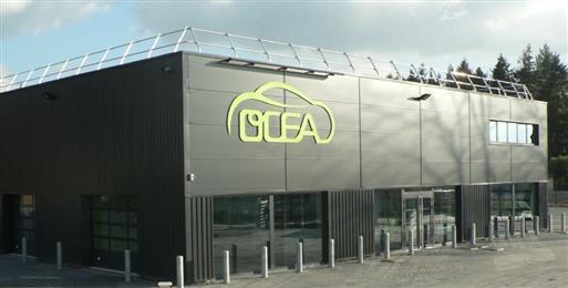 Garage Chamaillard annonce le parc OCEA